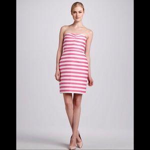 Kate Spade Striped Betsy Strapless Dress Size 8 🆕